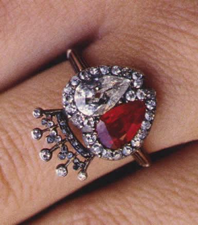 Princess Alexandra Engagement Ring
