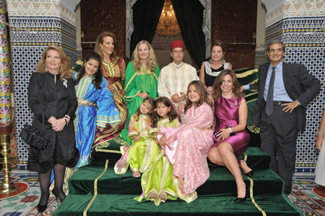 Mariage du prince moulay ismael les photos officielles - Casas marroquies ...