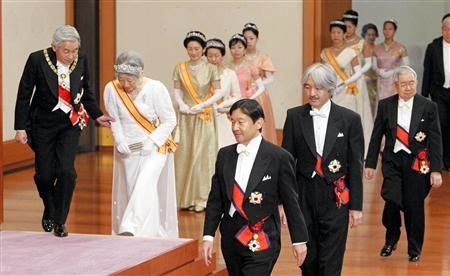 JAPON : L'empereur Akihito ouvre la voie de son abdication