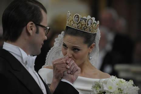 mariage princier stockholm l 39 arriv e de la mari e noblesse royaut s. Black Bedroom Furniture Sets. Home Design Ideas