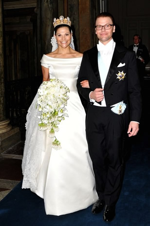 mariage princier en su de d ner de gala au palais royal noblesse royaut s. Black Bedroom Furniture Sets. Home Design Ideas