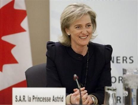 Résultat d'images pour princesse astrid de belgique au canada