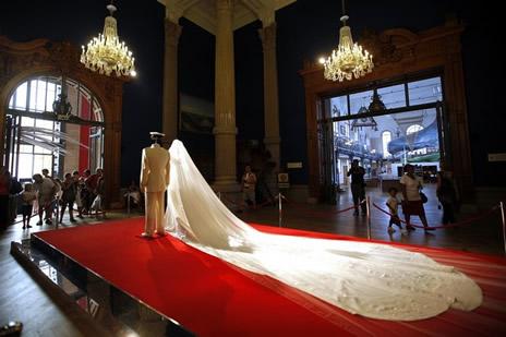 exposition sur le mariage princier mon gasque noblesse royaut s. Black Bedroom Furniture Sets. Home Design Ideas