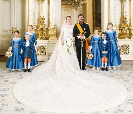 Guillaume Et Stephanie De Luxembourg Noblesse Royautes