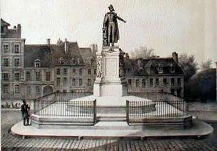 179cf799a40a Les habitants de Saint-Omer réunissent 12.000 francs et la réalisation de  la statue est confiée à Nicolas Bernard Raggi, un sculpteur français  d origine ...
