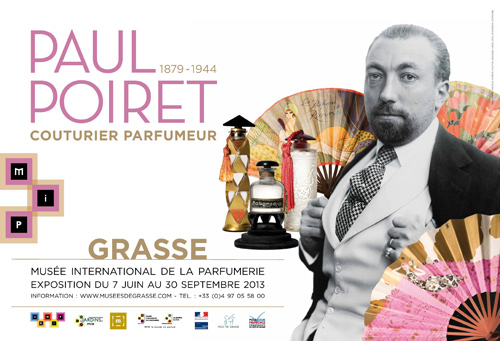 exposition paul poiret au mus e international de la parfumerie grasse noblesse royaut s. Black Bedroom Furniture Sets. Home Design Ideas