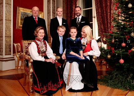 le no l de la famille royale de norv ge noblesse royaut s. Black Bedroom Furniture Sets. Home Design Ideas