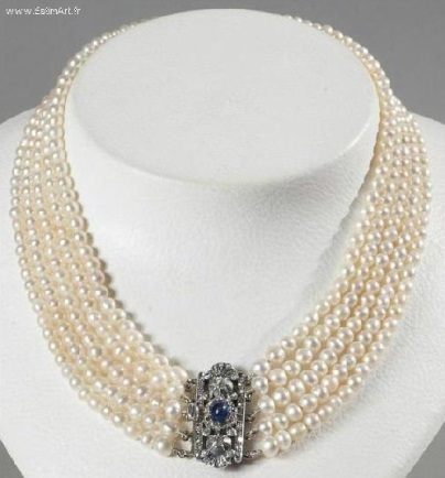 collier perle tunisie