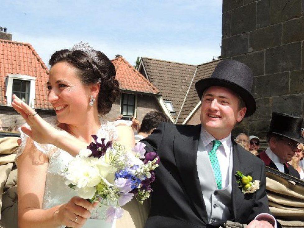 Mariage du comte Roderik de Castell-Rudenhaussen