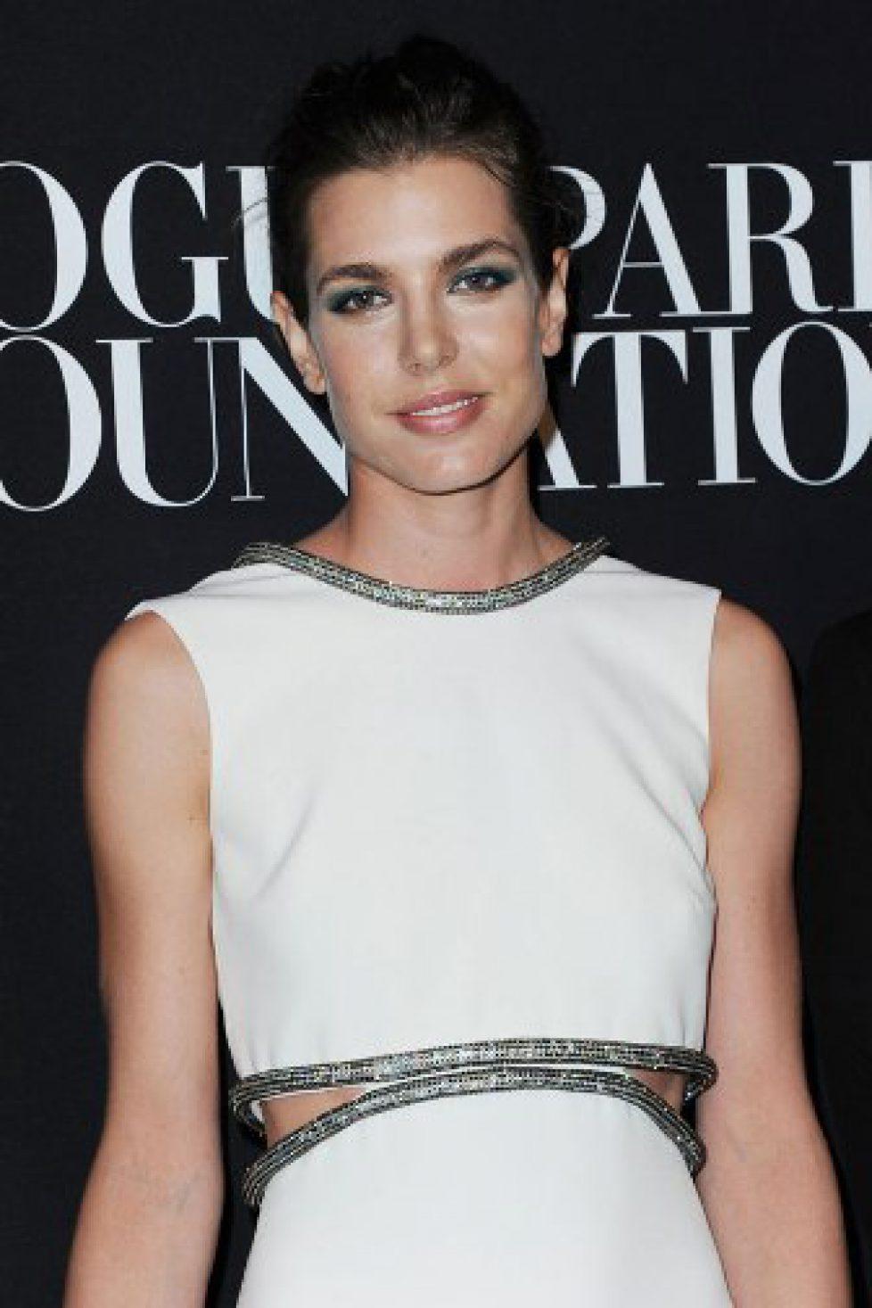 Charlotte Casiraghi à une soirée de gala de la mode à Paris
