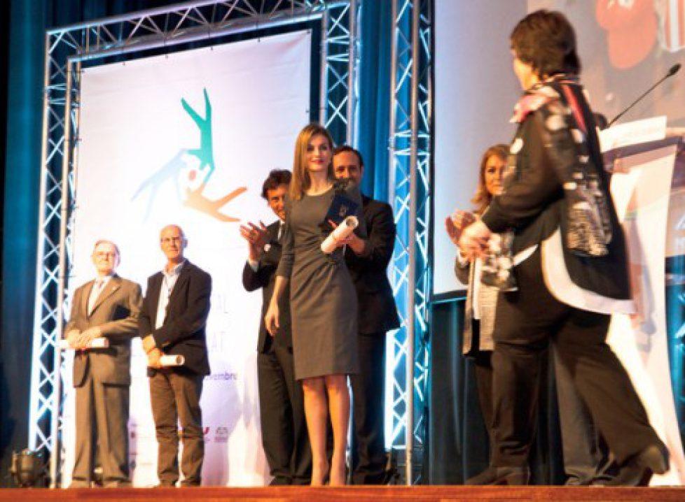 Queen+Letizia+Spain+Attends+National+Volunteering+HNH980UebIMl