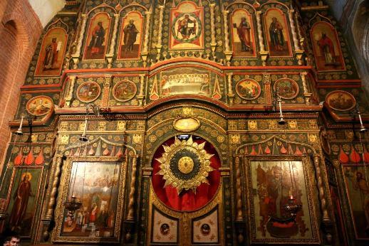 La cath drale saint basile le bienheureux moscou for Interieur 18eme siecle