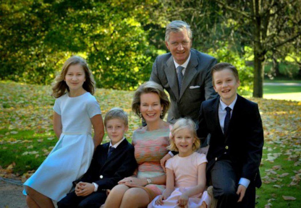 Belgian-Royal-Family-2014-Christmas-Card