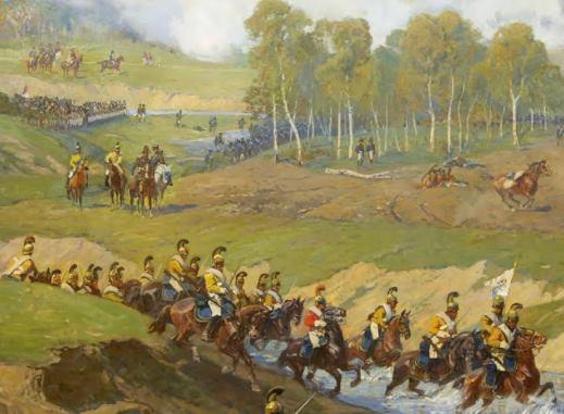la bataille de borodino ou bataille de la moscova pour les français a