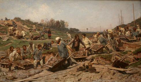 Le Realisme Dans La Peinture Russe Au Xixeme Siecle Noblesse Royautes