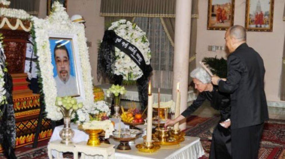 Décès du prince Sisowath Chittara du Cambodge