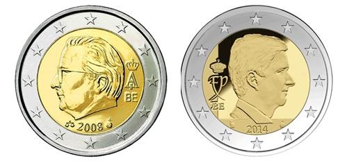 numismatique de l 39 euro les nouveaux rois et le design noblesse royaut s. Black Bedroom Furniture Sets. Home Design Ideas