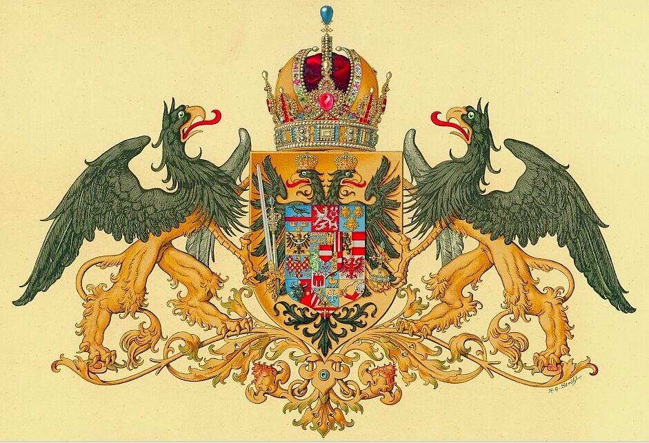 Grandes Armes d'Autriche-Hongrie