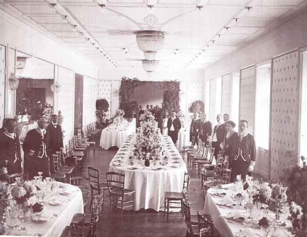 Salle a¦Ç manger la veille du mariage