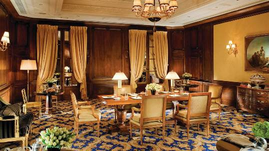 Salon napol on de l h tel george v paris noblesse - Hotel georges v paris prix chambre ...