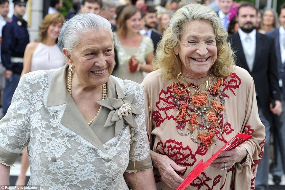 Fernanda Casiraghi Et Marta Marzotto Deux Grands M 232 Res