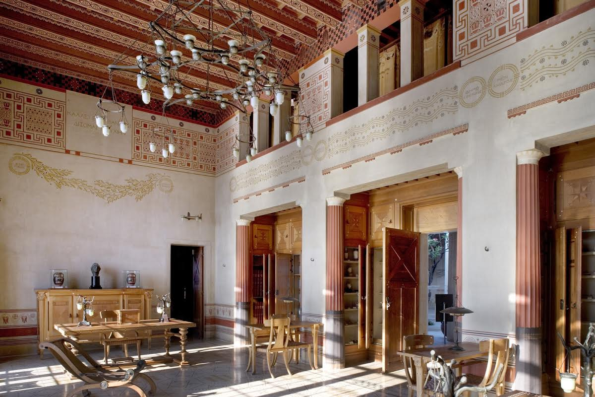 Villa Kerylos Visite