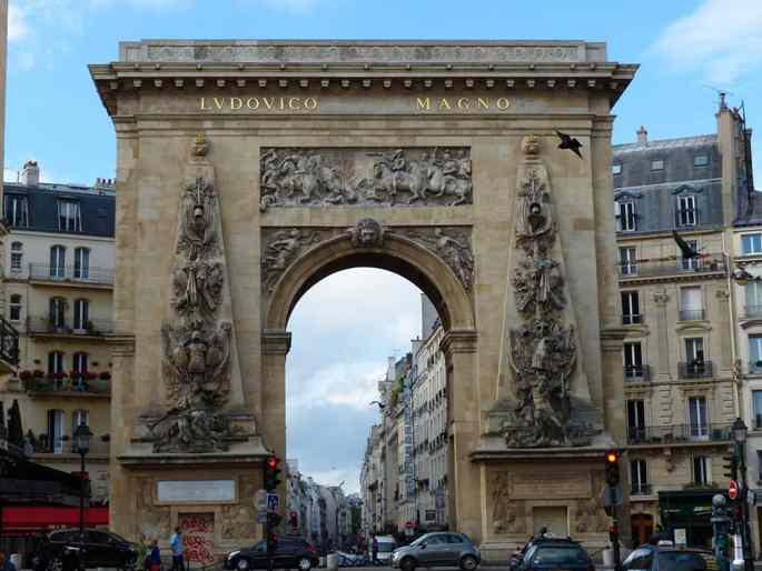 Les portes royales de louis xiv la porte saint denis for Porte st louis
