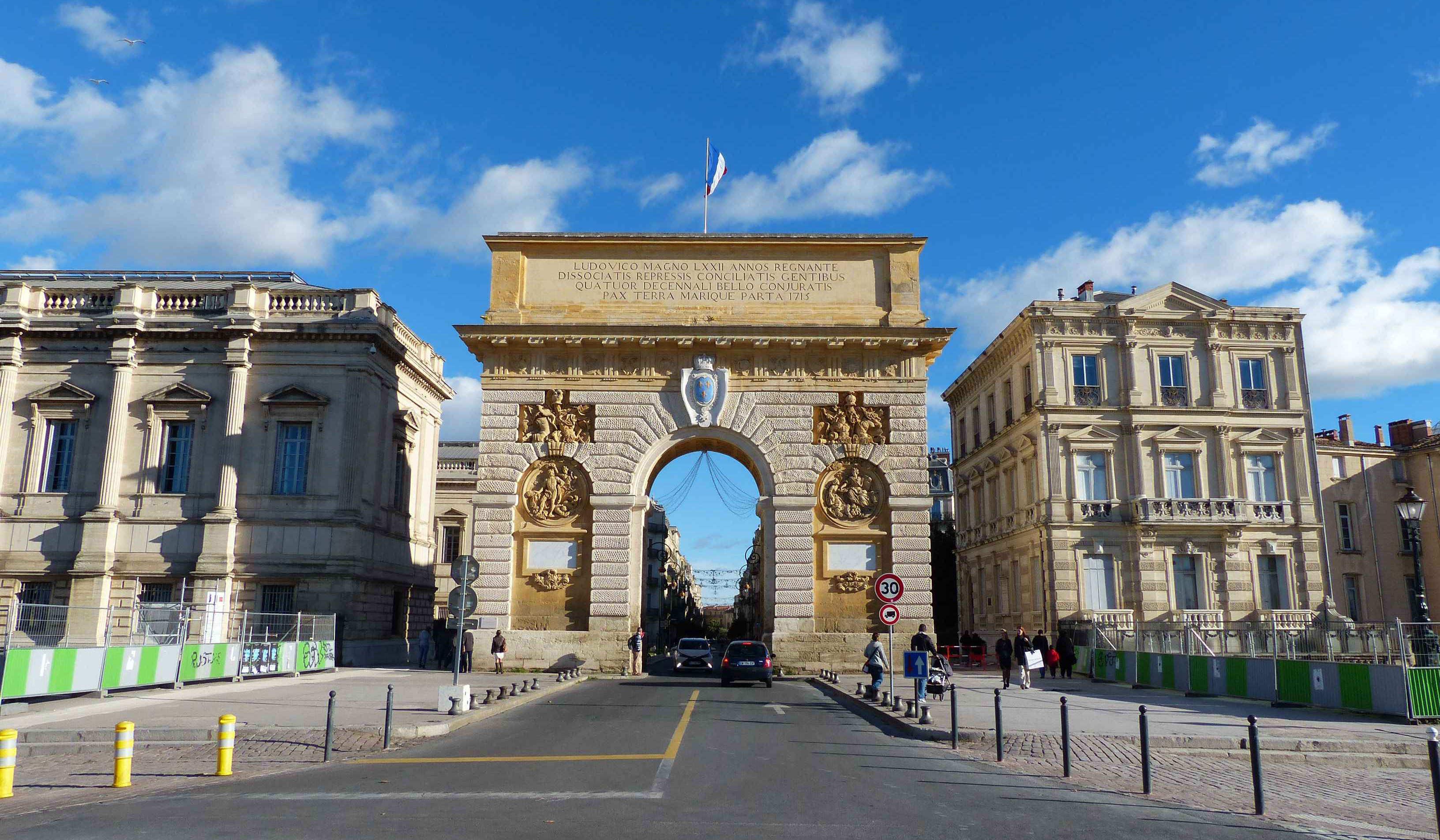 Les portes royales de louis xiv la porte royale du peyrou de montpellier noblesse royaut s - Les portes de l enfer turkmenistan ...