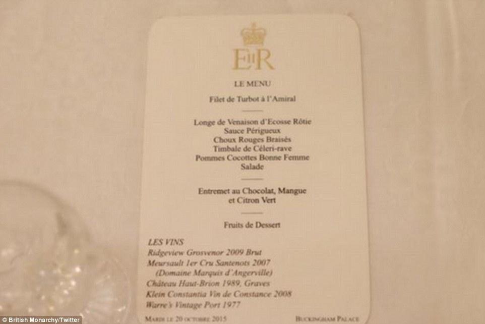 Grand Palace Restaurant Banquet Menu