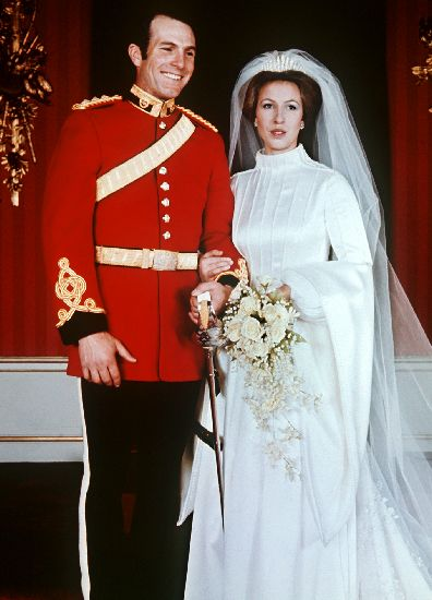 Princess Anne Wedding Dress Pictures : Le jour de son mariage la princesse avait coiff? diad?me d