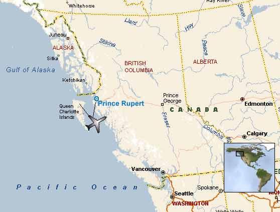 La Ville De Prince Rupert En Colombie Britannique  Noblesse Amp Royauts