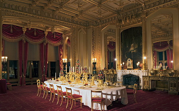 La château de Windsor à l'heure de Noël - Noblesse & Royautés