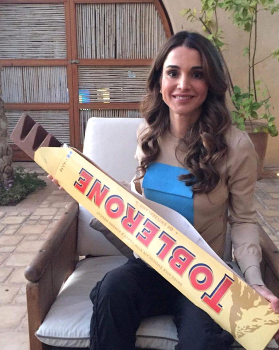 Rania De Jordanie Une Reine Gourmande Noblesse Royautes