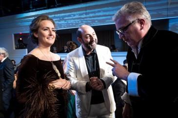Laurent et Claire de Belgique aux Magrittes du cinéma