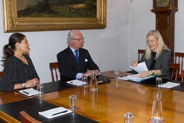 Carl Gustav et Victoria de Suède : réunion climat