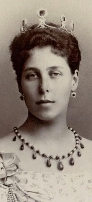 Le diadème de mariage de Victoria Mélita de Saxe-Cobourg
