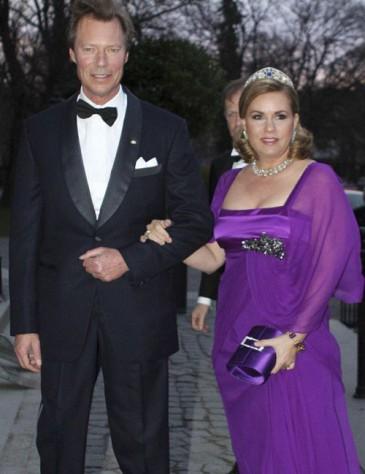 35 ans de mariage du couple grand-ducal