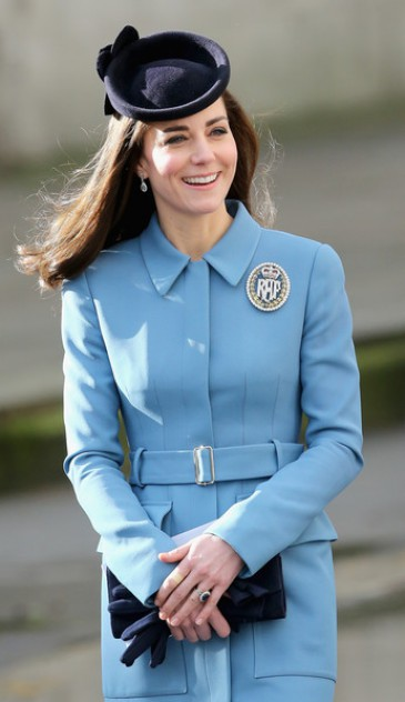 La duchesse de Cambridge aux 75 ans des RAF Air cadets