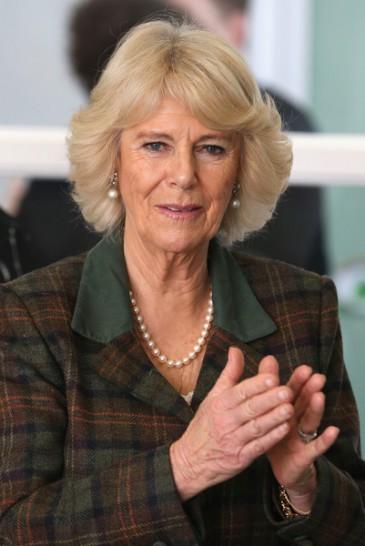 Camilla en visite dans le Wiltshire