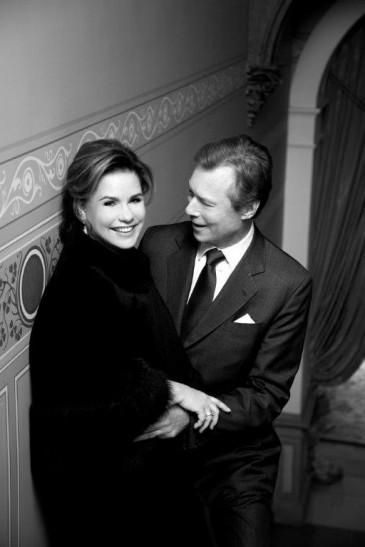 Henri et Maria Teresa de Luxembourg : noces de rubis