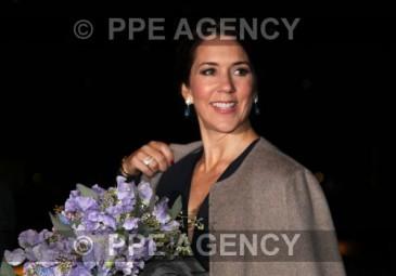 Mary de Danemark à une remise de prix