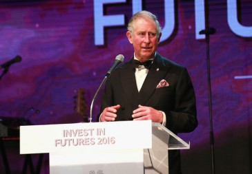 Le prince Charles au dîner de gala du «Prince's trust invest»