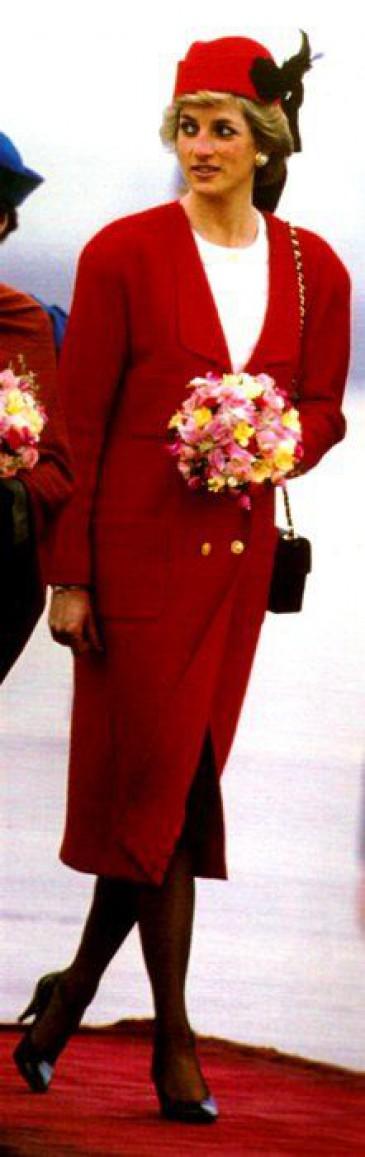 Diana en Chanel