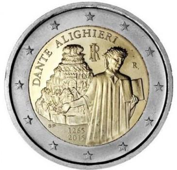 Numismatique de l'euro : Dante et la monarchie