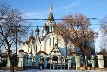 L'église de la résurrection à Sokolniki