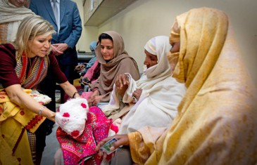Fin de la visite de la reine Maxima au Pakistan