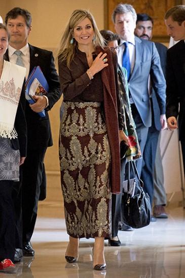 La reine des Pays-Bas au Pakistan
