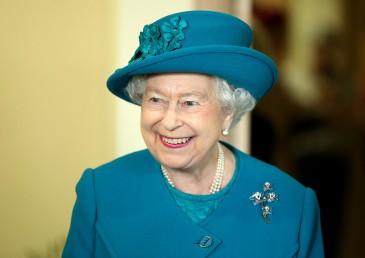 Elizabeth II en visite dans la Norfolk