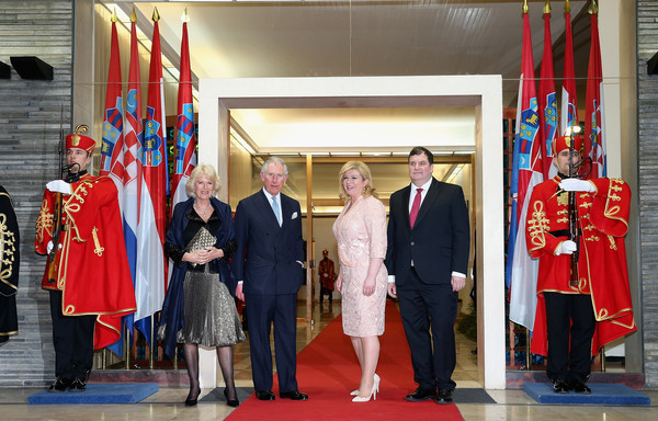 Charles Et Camilla D 238 Ner 224 Zagreb Noblesse Amp Royaut 233 S