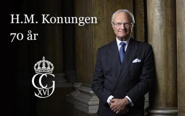 Suivez les festivités des 70 ans du roi de Suède en direct